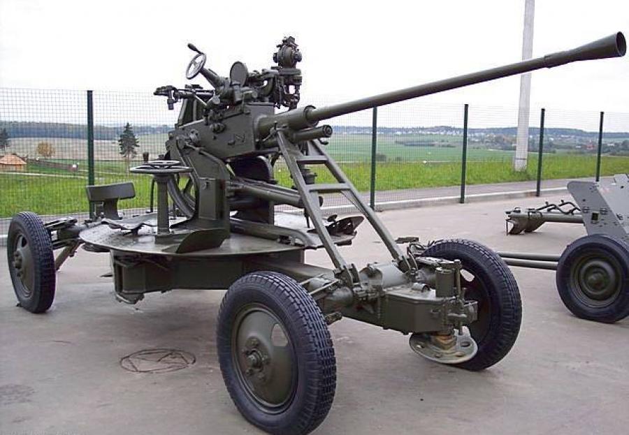 37-мм автоматическая зенитная пушка 61-к образца 1939 года img-1