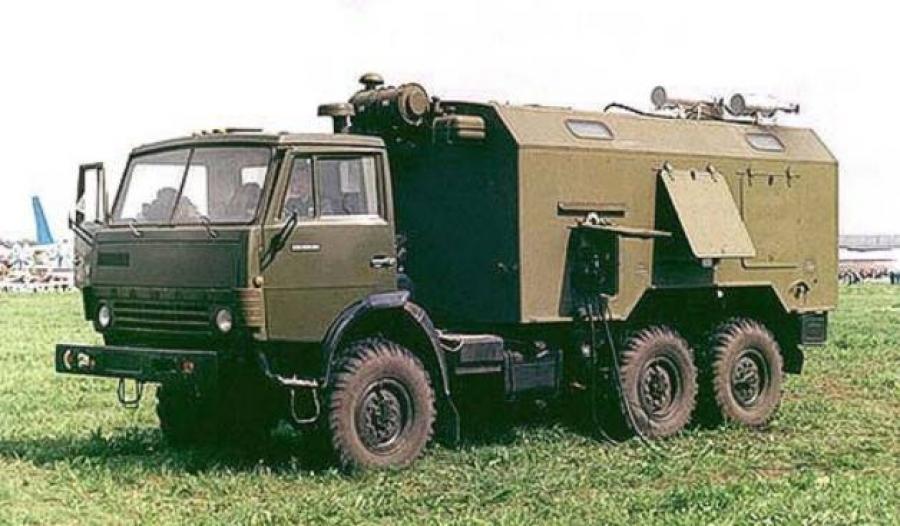 юрген. армейский грузовик Камского …