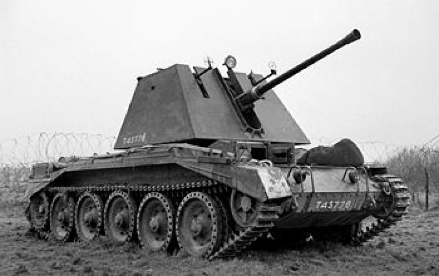 40-мм зенитная самоходная установка «Crusader» (Крузейдер ...