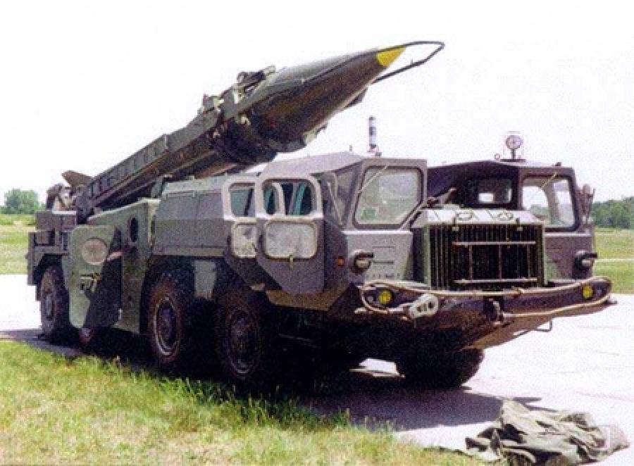 Оперативно-тактический ракетный комплекс 9К72 (Р-300 ...