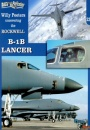 Willy Peeters uncovering the ROCKWELL B-1B LANCER