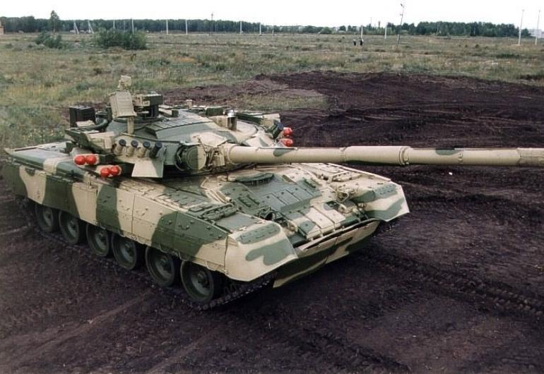 Основной боевой танк Т-80У, СССР | Энциклопедия оружия